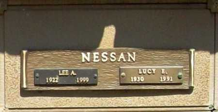NESSAN, LUCY E. - Benton County, Arkansas | LUCY E. NESSAN - Arkansas Gravestone Photos