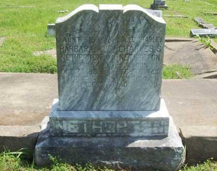 NETHERTON, BARBARA A - Benton County, Arkansas | BARBARA A NETHERTON - Arkansas Gravestone Photos