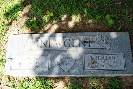NEWGENT, J. HOLLAND - Benton County, Arkansas | J. HOLLAND NEWGENT - Arkansas Gravestone Photos
