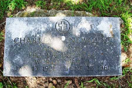 NEWGENT (VETERAN WWII), CHARLES ZELNER - Benton County, Arkansas | CHARLES ZELNER NEWGENT (VETERAN WWII) - Arkansas Gravestone Photos