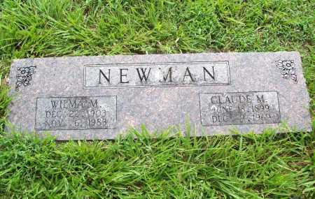 NEWMAN, CLAUDE M. - Benton County, Arkansas | CLAUDE M. NEWMAN - Arkansas Gravestone Photos