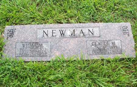 NEWMAN, WILMA M. - Benton County, Arkansas | WILMA M. NEWMAN - Arkansas Gravestone Photos