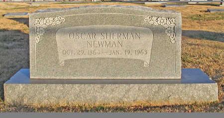 NEWMAN, OSCAR SHERMAN - Benton County, Arkansas | OSCAR SHERMAN NEWMAN - Arkansas Gravestone Photos