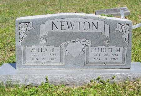 NEWTON, ZELLA R. - Benton County, Arkansas | ZELLA R. NEWTON - Arkansas Gravestone Photos