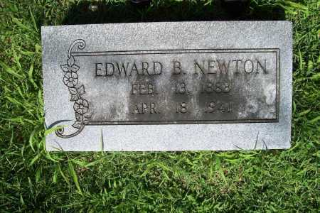 NEWTON, EDWARD B. - Benton County, Arkansas | EDWARD B. NEWTON - Arkansas Gravestone Photos