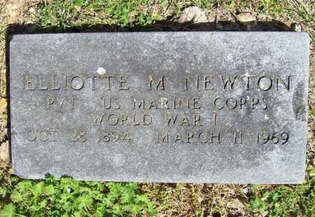 NEWTON (VETERAN WWI), ELLIOTTE M - Benton County, Arkansas | ELLIOTTE M NEWTON (VETERAN WWI) - Arkansas Gravestone Photos
