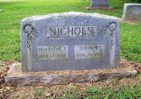 NICHOLS, MALINDA J. - Benton County, Arkansas | MALINDA J. NICHOLS - Arkansas Gravestone Photos