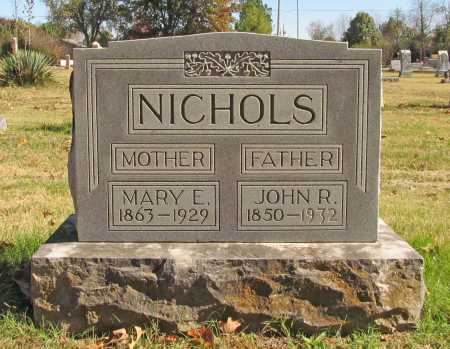 NICHOLS, MARY E. - Benton County, Arkansas | MARY E. NICHOLS - Arkansas Gravestone Photos