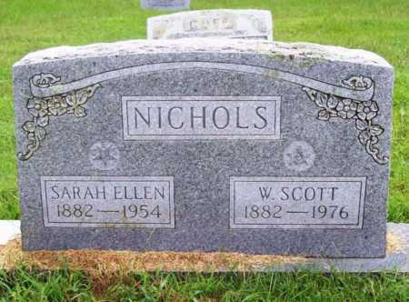 NICHOLS, SARAH ELLEN - Benton County, Arkansas | SARAH ELLEN NICHOLS - Arkansas Gravestone Photos