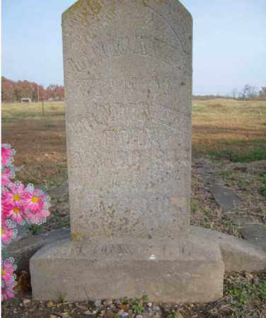 SUMMERS NICKELL, AMERICA C. - Benton County, Arkansas | AMERICA C. SUMMERS NICKELL - Arkansas Gravestone Photos