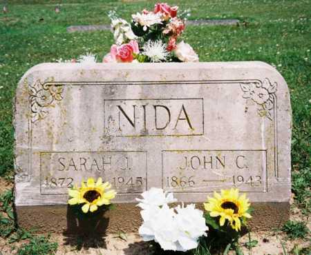NIDA, SARAH J. - Benton County, Arkansas | SARAH J. NIDA - Arkansas Gravestone Photos
