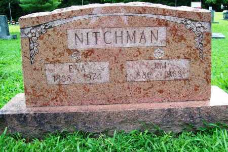 NITCHMAN, EVA - Benton County, Arkansas | EVA NITCHMAN - Arkansas Gravestone Photos