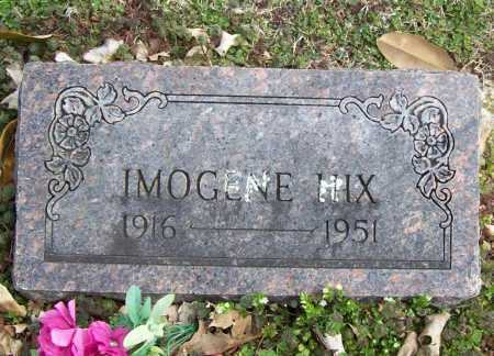 HIX, IMOGENE - Benton County, Arkansas | IMOGENE HIX - Arkansas Gravestone Photos