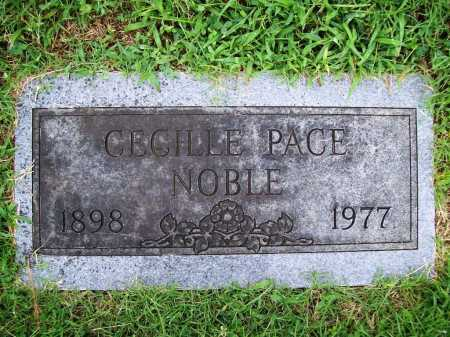 NOBLE, CECILLE - Benton County, Arkansas | CECILLE NOBLE - Arkansas Gravestone Photos