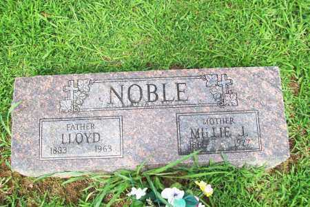 NOBLE, LLOYD - Benton County, Arkansas | LLOYD NOBLE - Arkansas Gravestone Photos