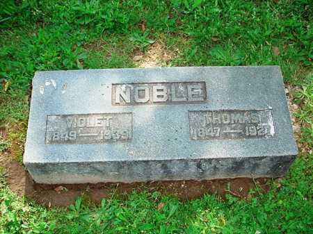 NOBLE, THOMAS - Benton County, Arkansas | THOMAS NOBLE - Arkansas Gravestone Photos