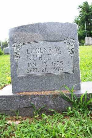 NOBLETT, EUGENE W. - Benton County, Arkansas | EUGENE W. NOBLETT - Arkansas Gravestone Photos