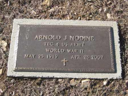 NODINE (VETERAN WWII), ARNOLD J - Benton County, Arkansas | ARNOLD J NODINE (VETERAN WWII) - Arkansas Gravestone Photos