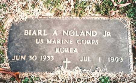 NOLAND, JR (VETERAN KOR), BIARL ARLIS - Benton County, Arkansas | BIARL ARLIS NOLAND, JR (VETERAN KOR) - Arkansas Gravestone Photos
