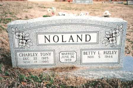 NOLAND, CHARLEY TONY - Benton County, Arkansas | CHARLEY TONY NOLAND - Arkansas Gravestone Photos