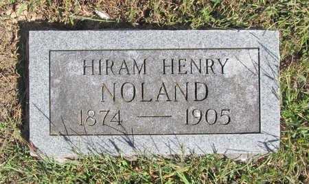 NOLAND, HIRAM HENRY - Benton County, Arkansas | HIRAM HENRY NOLAND - Arkansas Gravestone Photos