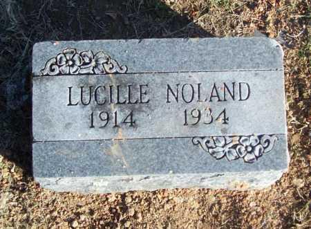 NOLAND, LUCILLE - Benton County, Arkansas | LUCILLE NOLAND - Arkansas Gravestone Photos