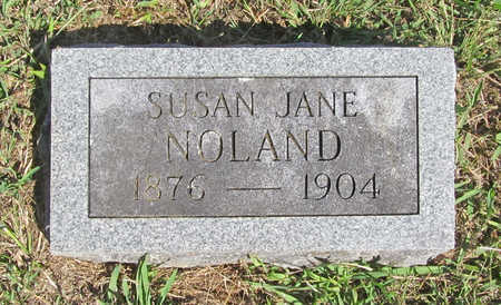 NOLAND, SUSAN JANE - Benton County, Arkansas | SUSAN JANE NOLAND - Arkansas Gravestone Photos