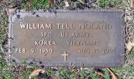 NOLAND (VETERAN 2 WARS), WILLIAM TELL - Benton County, Arkansas | WILLIAM TELL NOLAND (VETERAN 2 WARS) - Arkansas Gravestone Photos
