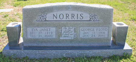NORRIS, GEORGE FLOYD - Benton County, Arkansas | GEORGE FLOYD NORRIS - Arkansas Gravestone Photos