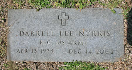 NORRIS (VETERAN), DARRELL LEE - Benton County, Arkansas | DARRELL LEE NORRIS (VETERAN) - Arkansas Gravestone Photos