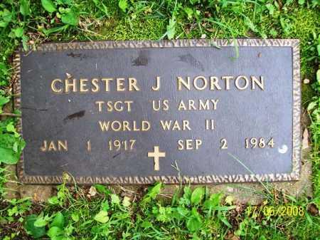 NORTON (VETERAN WWII), CHESTER J. - Benton County, Arkansas | CHESTER J. NORTON (VETERAN WWII) - Arkansas Gravestone Photos