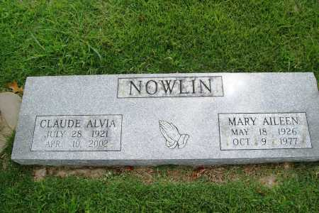 NOWLIN, MARY AILEEN - Benton County, Arkansas | MARY AILEEN NOWLIN - Arkansas Gravestone Photos