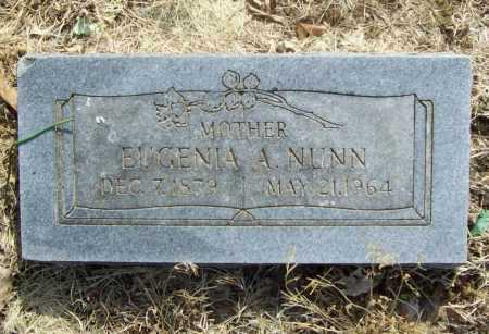 NUNN, EUGENIA A. - Benton County, Arkansas | EUGENIA A. NUNN - Arkansas Gravestone Photos