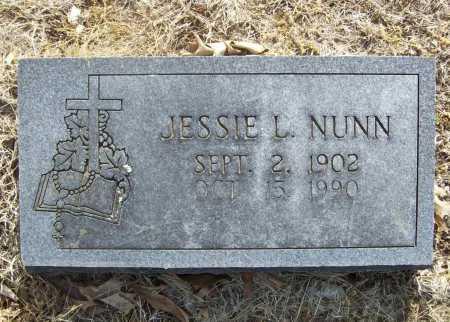 NUNN, JESSIE L. - Benton County, Arkansas | JESSIE L. NUNN - Arkansas Gravestone Photos