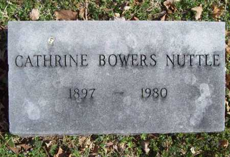 BOWERS NUTTLE, CATHRINE - Benton County, Arkansas | CATHRINE BOWERS NUTTLE - Arkansas Gravestone Photos