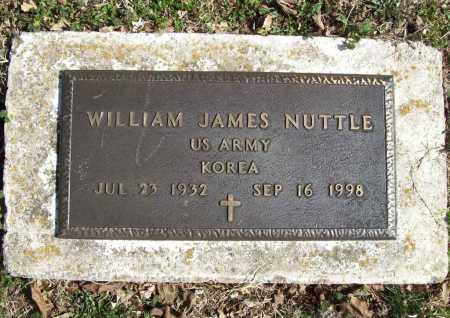 NUTTLE (VETERAN KOR), WILLIAM JAMES - Benton County, Arkansas | WILLIAM JAMES NUTTLE (VETERAN KOR) - Arkansas Gravestone Photos