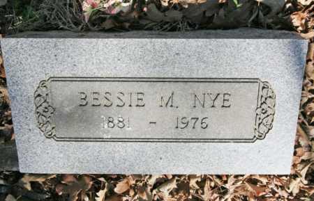 NYE, BESSIE MAUDE - Benton County, Arkansas | BESSIE MAUDE NYE - Arkansas Gravestone Photos