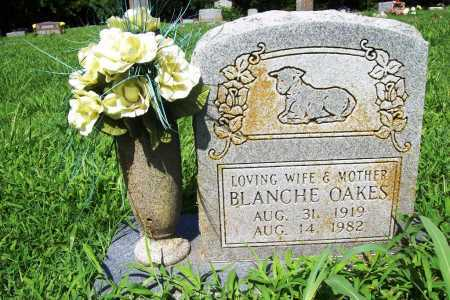 OAKES, BLANCHE - Benton County, Arkansas | BLANCHE OAKES - Arkansas Gravestone Photos
