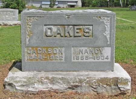 OAKES, NANCY - Benton County, Arkansas | NANCY OAKES - Arkansas Gravestone Photos