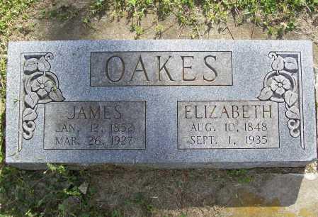 OAKES, JAMES - Benton County, Arkansas | JAMES OAKES - Arkansas Gravestone Photos