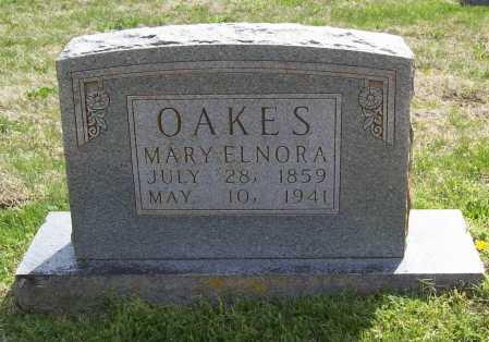 OAKES, MARY ELNORA - Benton County, Arkansas | MARY ELNORA OAKES - Arkansas Gravestone Photos