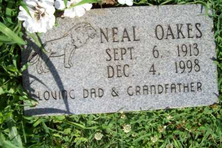 OAKES, NEAL - Benton County, Arkansas | NEAL OAKES - Arkansas Gravestone Photos