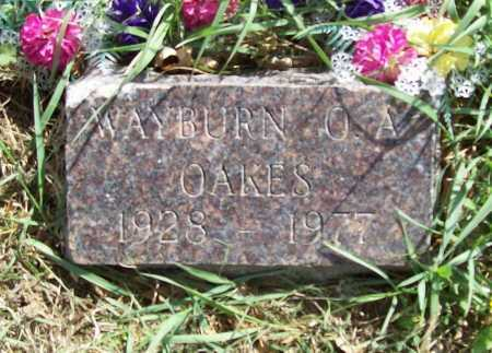 OAKES, WAYBURN O. A. - Benton County, Arkansas | WAYBURN O. A. OAKES - Arkansas Gravestone Photos