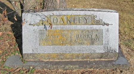 OAKLEY, MARY E (MOLLIE) - Benton County, Arkansas | MARY E (MOLLIE) OAKLEY - Arkansas Gravestone Photos