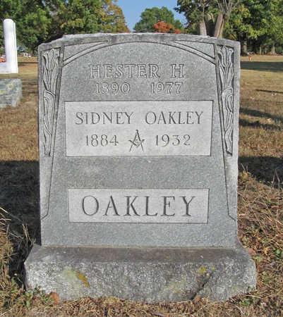 OAKLEY, HESTER H - Benton County, Arkansas | HESTER H OAKLEY - Arkansas Gravestone Photos