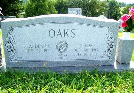 OAKS, CLYDE - Benton County, Arkansas | CLYDE OAKS - Arkansas Gravestone Photos