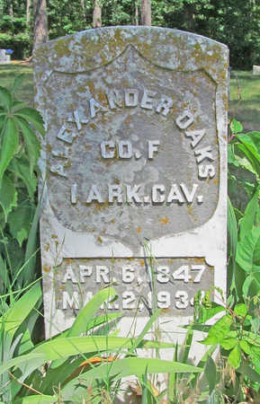 OAKS (VETERAN UNION), ALEXANDER - Benton County, Arkansas | ALEXANDER OAKS (VETERAN UNION) - Arkansas Gravestone Photos