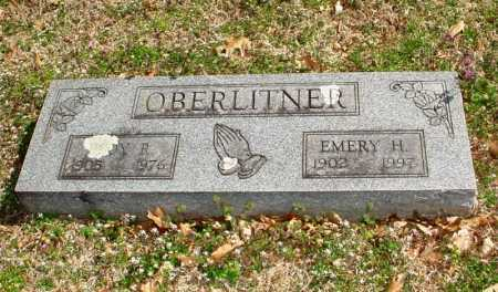 OBERLITNER, EMERY H. - Benton County, Arkansas | EMERY H. OBERLITNER - Arkansas Gravestone Photos