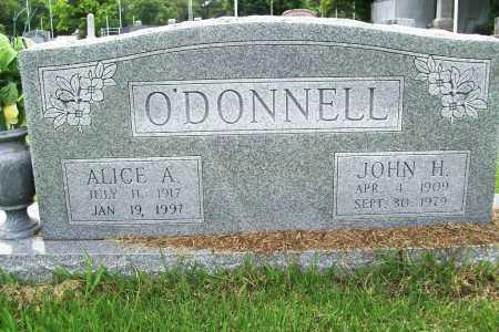 O'DONNELL, ALICE A. - Benton County, Arkansas | ALICE A. O'DONNELL - Arkansas Gravestone Photos