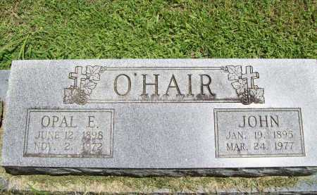 O'HAIR, JOHN - Benton County, Arkansas | JOHN O'HAIR - Arkansas Gravestone Photos